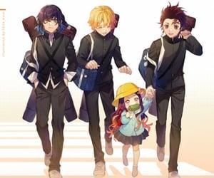 anime, kawaii, and zenitsu image