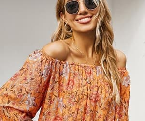 blouse, glamorous, and mode image