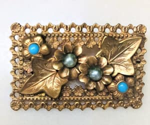 Art Nouveau, french brooch, and antique french jewel image