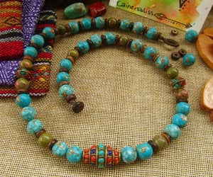 etsy, mens accessories, and boho necklace image