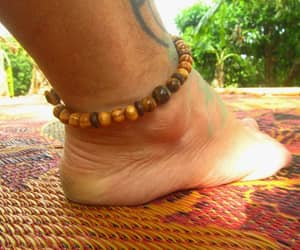 etsy, hippie, and anklet image