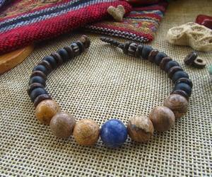chakra, boho style, and gemstone bracelet image