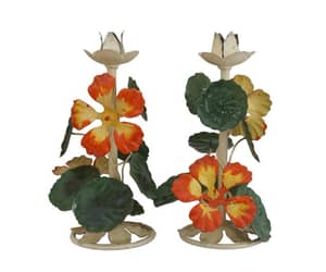 etsy, french toleware, and nasturtium tole image