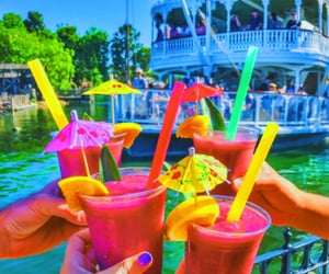 drink, season, and summer image