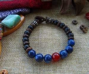 etsy, stone bracelet, and gemstones image