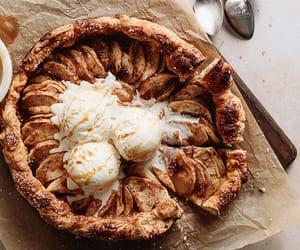 apple, food, and galette image