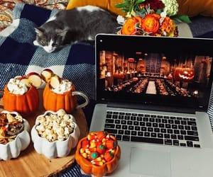 autumn, food, and movie image