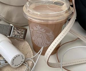 coffee, iced coffee, and drinks image