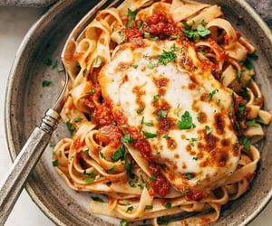 cheese, meal, and yummy image