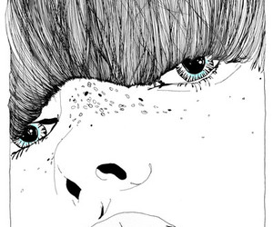 illustration, fashion, and girl image