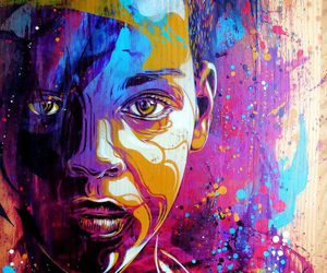 art, colors, and c215 image