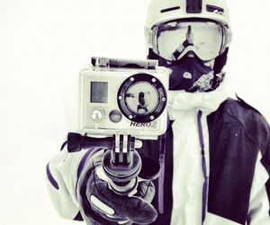 snowboard and gopro image