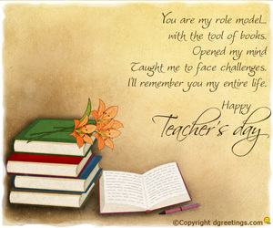 teachers day cards and teachers' day e-cards image