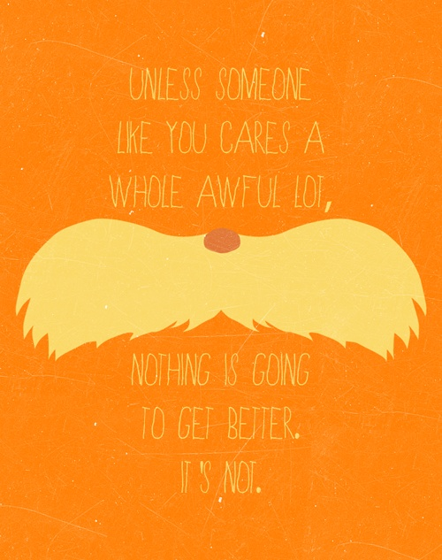 Wise Words / Love Dr Seus on We Heart It