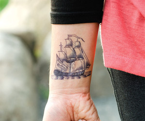 tattoo and ship image