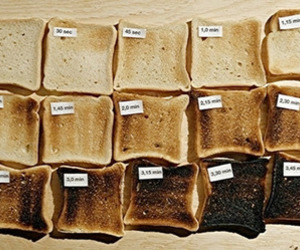 toast, bread, and food image