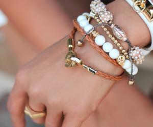 bracelets, fashion, and jewellery image