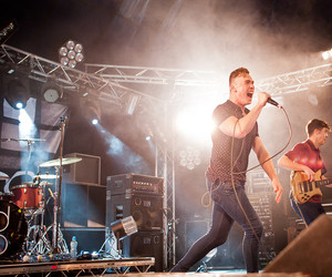 guitar, don broco, and leeds festival 2012 image