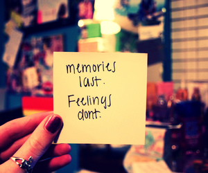 memories, quote, and feelings image