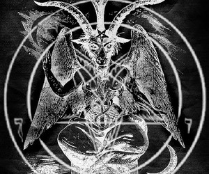 666, Baphomet, and louis image
