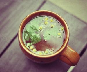 camomile, drink, and mug image