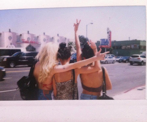 best friends, blond, and concert image