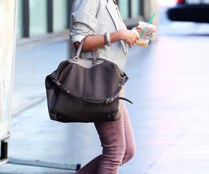 bag, girl, and mode image