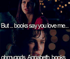 percy jackson, book, and annabeth chase image