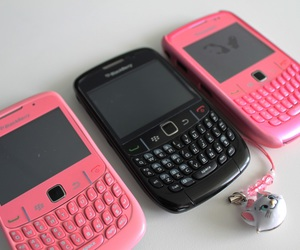 blackberry, pink, and cute image