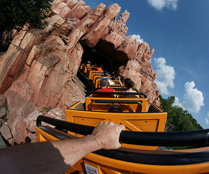 photography, Roller Coaster, and fun image