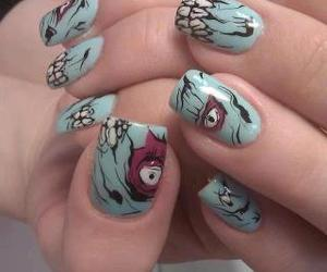 nails and zombie image