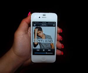 justin bieber, boyfriend, and iphone image