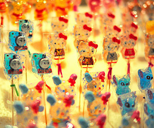 candy, hello kitty, and sweet image