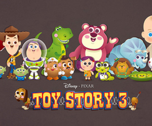 toy story 3, disney, and toys image