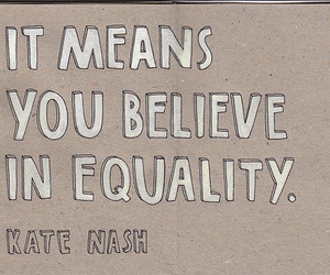 equality and kate nash image