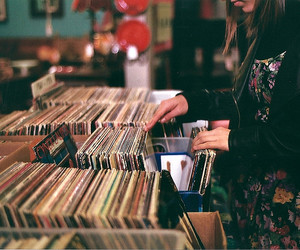 Claire, vinyl, and records image