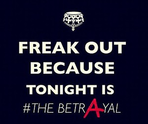 freak out, betrayal, and pretty little liars image