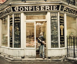 bakery, paris, and france image