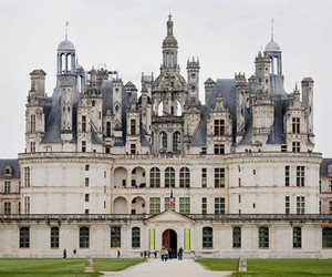 castle, architecture, and france image