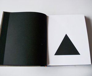 black and white, book, and design image