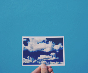 sky and blue image