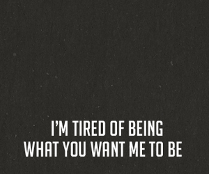 tired, me, and quote image