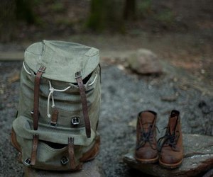 travel, nature, and boots image