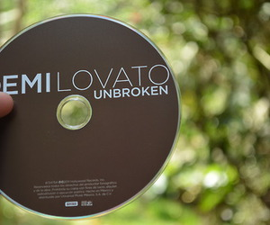 demi lovato and unbroken image