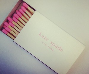 pink, kate spade, and matches image