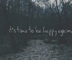 happy, quotes, and time image