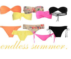 beach, swimwear, and bikini image