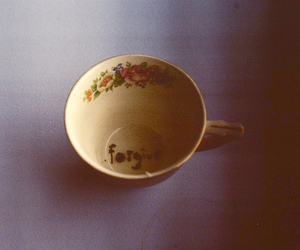 vintage, cup, and forgive image