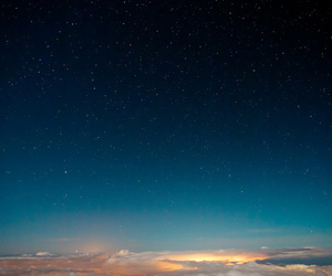 cool, sky, and stars image