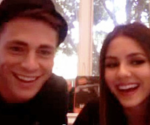 victoria justice, teen wolf, and colton haynes image